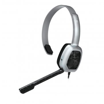 PS4 Afterglow LVL1 Grey Camo Wired Headset