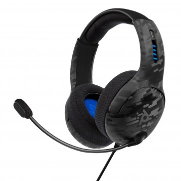 PS4/PS5 LVL50 Stereo Wired Headset - Black Camo