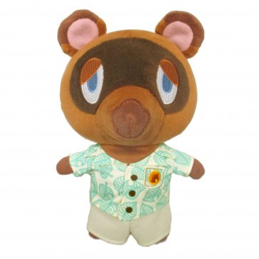 "Animal Crossing: New Horizons - Tom Nook 5"" Plush"