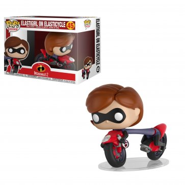 Elastigirl on Elasticyc POP! Rides Vinyl Figure