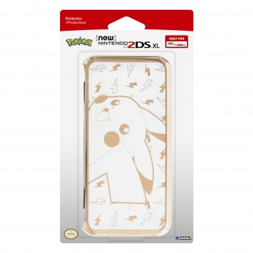 New 2DS XL Pikachu Gold Premium Protector
