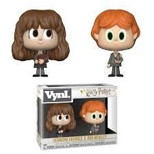 Harry Potter Ron & Hermione VYNL Figure