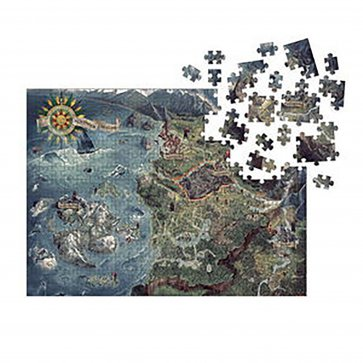 The Witcher 3: Wild Hunt Puzzle: Witcher World Map