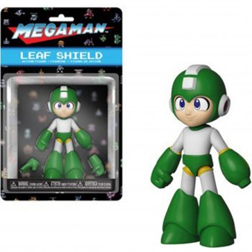Leaf Shield - Mega Man Action Figure w/ CHASE