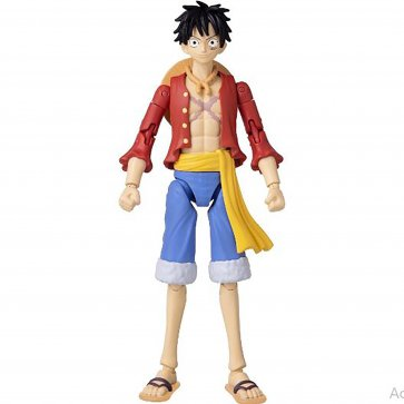 "One Piece - Anime Heroes - Monkey.D.Luffy 6.5"" Figure"