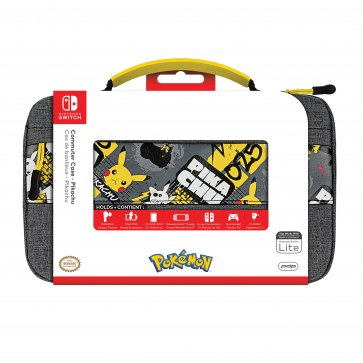 Switch and Switch Lite Commuter Case - Pikachu Elite Edition