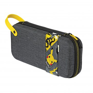 Switch and Switch Lite Dlx Travel Case - Pikachu Elite Ed