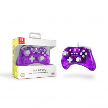 Nintendo Switch Rock Candy Wired Controller - Cosmoberry
