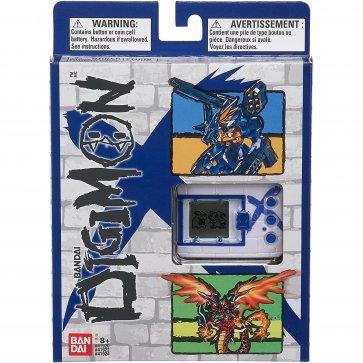 . Digimon X Bandai Digivice Virtual Pet Monster - White and Blue