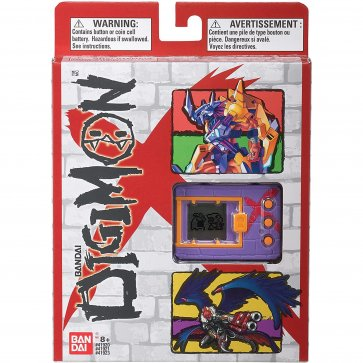 . Digimon X Bandai Digivice Virtual Pet Monster - Purple and Red