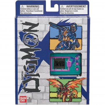. Digivice Virtual Pet Monster - Green and Blue