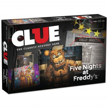Five Nights at Freddy's Clue