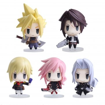 Final Fantasy Trading Arts Mini Figure - Set of 6 Vol. 1