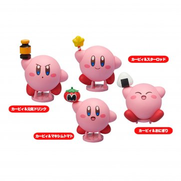 . Cocoroid Kirby Collectible Figures 6-PC PDQ