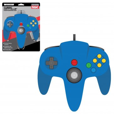 Wired Controller for N64 - Blue