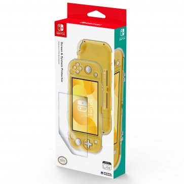Hori Switch Lite Screen & System Protector - Clear
