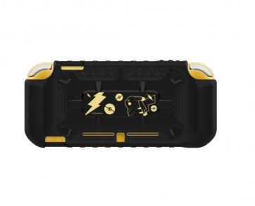 Switch Lite Hybrid System Armor - Pikachu Black and Gold