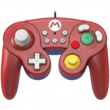 Switch Battle Pad Wired Controller - Mario (Hori)