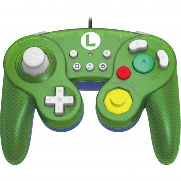 Switch Battle Pad Wired Controller - Luigi (Hori)