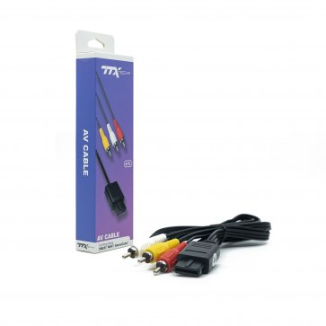 TTX Tech AV Cable for SNES/ N64/ GameCube