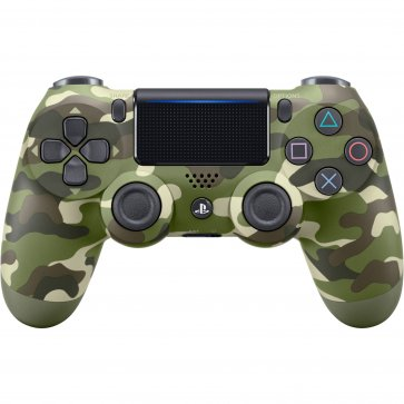 PS4 DualShock 4 Wireless Controller Green Camo