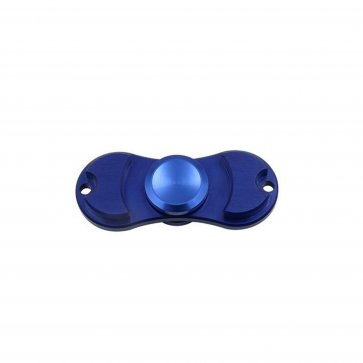 2-Wings Chrome Spinner - Blue
