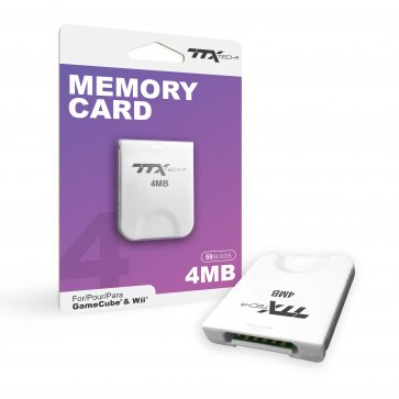 Wii Gamecube 4MB Memory Card