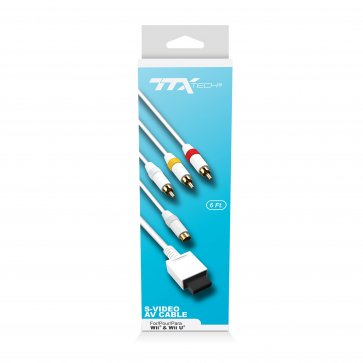 TTX Tech S-Video AV Cable for Wii and Wii U