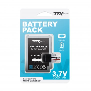 TTX Tech Replacement Battery Pack for Wii U GamePad