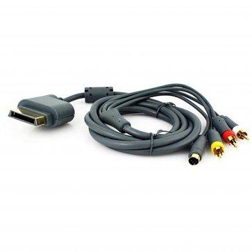 TTX Tech Xbox 360 - Cable - S-Video AV Cable - New Bulk