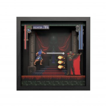Pixel Frames - Castlevania - Intro Dracula 9x9