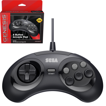 SEGA Genesis 6-button Arcade Pad