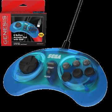 SEGA Genesis 8-button Arcade USB Pad