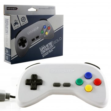 SNES Wired Super Retro Controller - Grey
