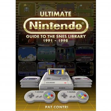 Ultimate Nintendo Guide to the SNES Library Book PAL Version