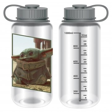 "Star Wars Mandalorian ""The Child"" End Credits Water Bottle"