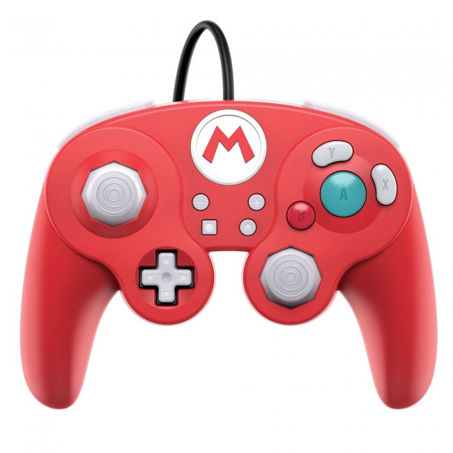 Wired Fight Pad Pro for Nintendo Switch - Mario Edition