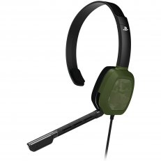 PS4 Afterglow LVL1 Green Camo Wired Headset