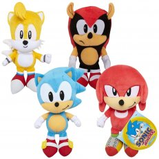 Sonic the Hedgehog Plush - 8PC PDQ Assrt Wave 3
