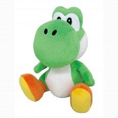 """Super Mario - Green Yoshi 8"""" Plush"""