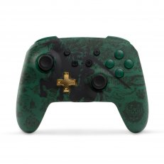 Switch Enhanced Wireless Controller - Zelda Link Silhouette