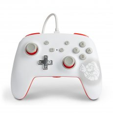 Switch Wired Controller - Mario White