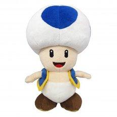 """Super Mario - Blue Toad 8"""" Plush"""