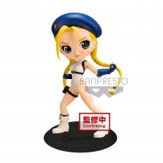 Street Fighter Cammy Blue Q posket Figure