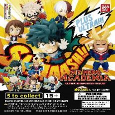 Gacha Balls - My Hero Academia Key Chain
