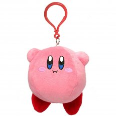 """Kirby 3.5"""" Hovering Plush Keychain"""