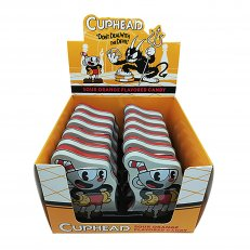 Cuphead Tin - Orange Sour Flavored Candy