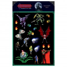 Castlevania - Symphony of the Night - Magnet Set