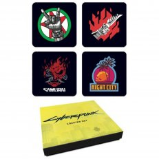 Cyberpunk 2077: Coaster - Set of 4