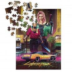 Cyberpunk 2077: Kitsch 1000-Piece Puzzle